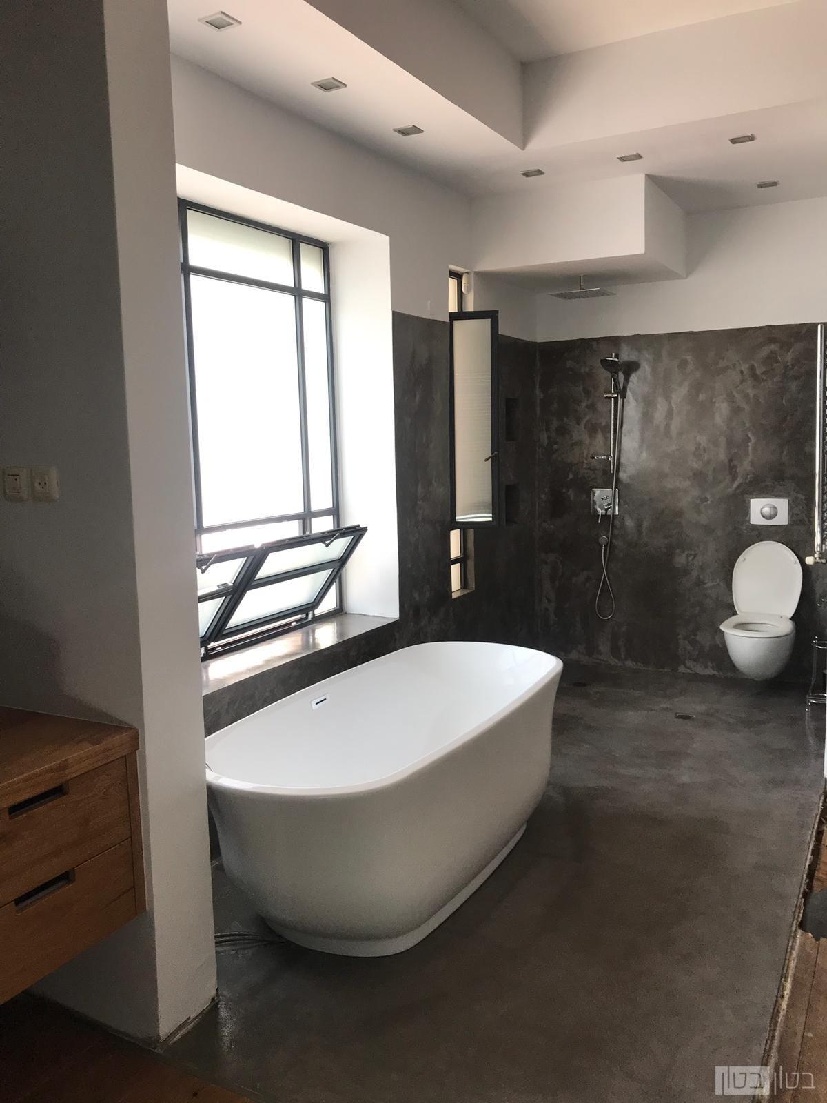 מיקרוטופינג רצפה וקיר אמבטיה