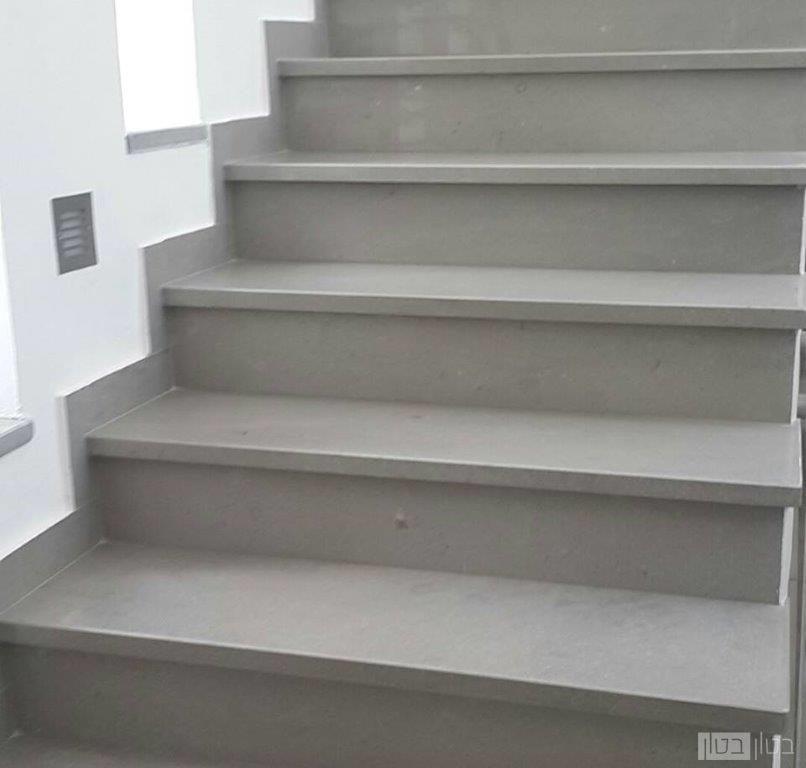 חידוש מדרגות בטון מוחלק