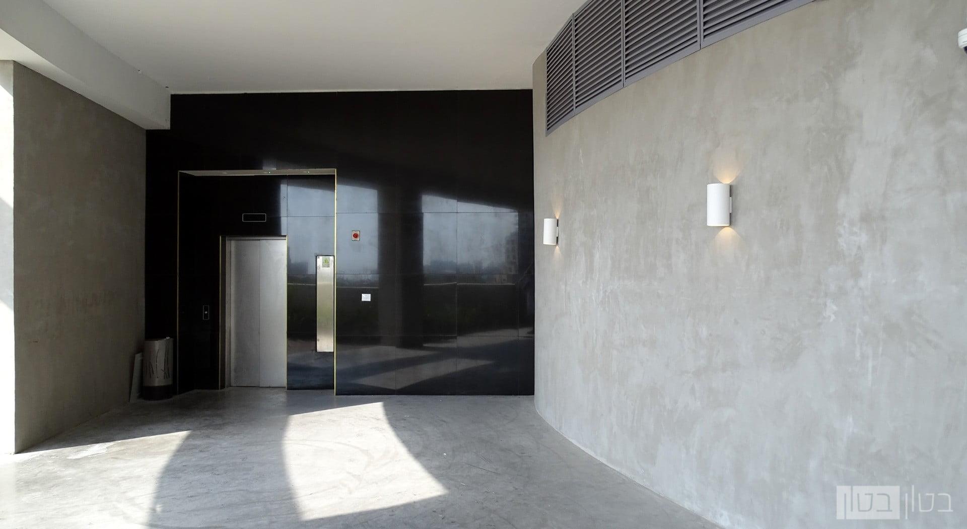 חיפוי בטון מוחלק מינרלי לבניין מגורים