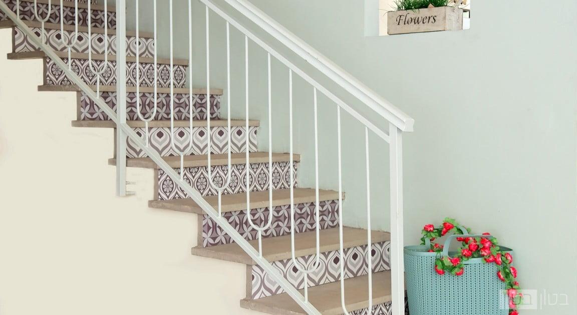 מדרגות בטון בעיצוב רטרו
