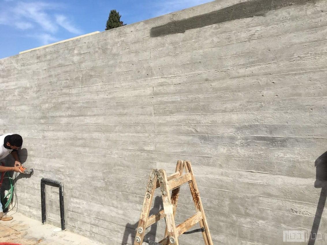 חיפוי קירות חוץ דמוי עץ