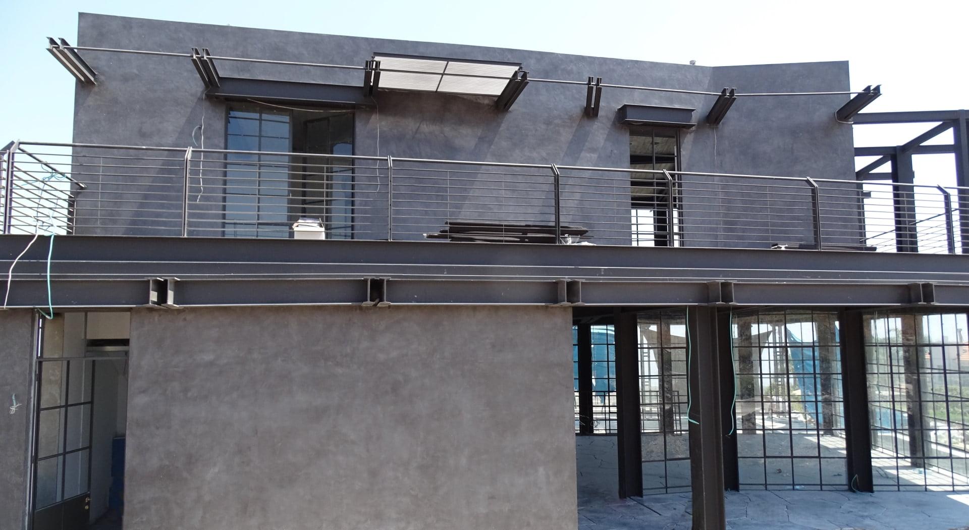 בטון אדריכלי חיפוי חיצוני לבית