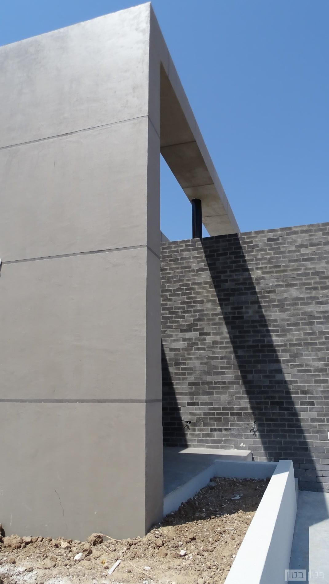 חיפוי בטון אדריכלי חיצוני קל משקל